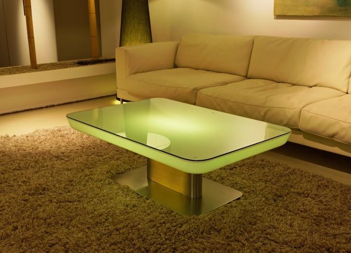led wohnzimmertisch:Couchtisch Studio 36 LED Pro Accu Wohnzimmertisch Leuchttisch by Moree
