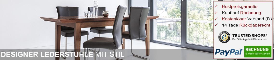 designer lederst hle lederst hle online kaufen dewall design. Black Bedroom Furniture Sets. Home Design Ideas