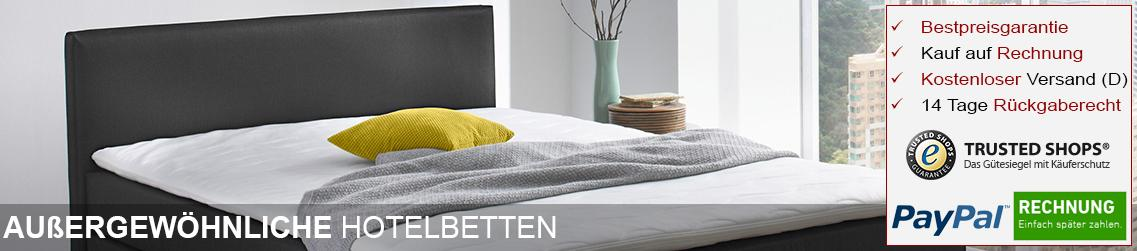 hotelbetten online kaufen hochwertig g nstig dewall. Black Bedroom Furniture Sets. Home Design Ideas