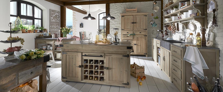 Küchenschrank | Rustikale Küchenmöbel online kaufen ...