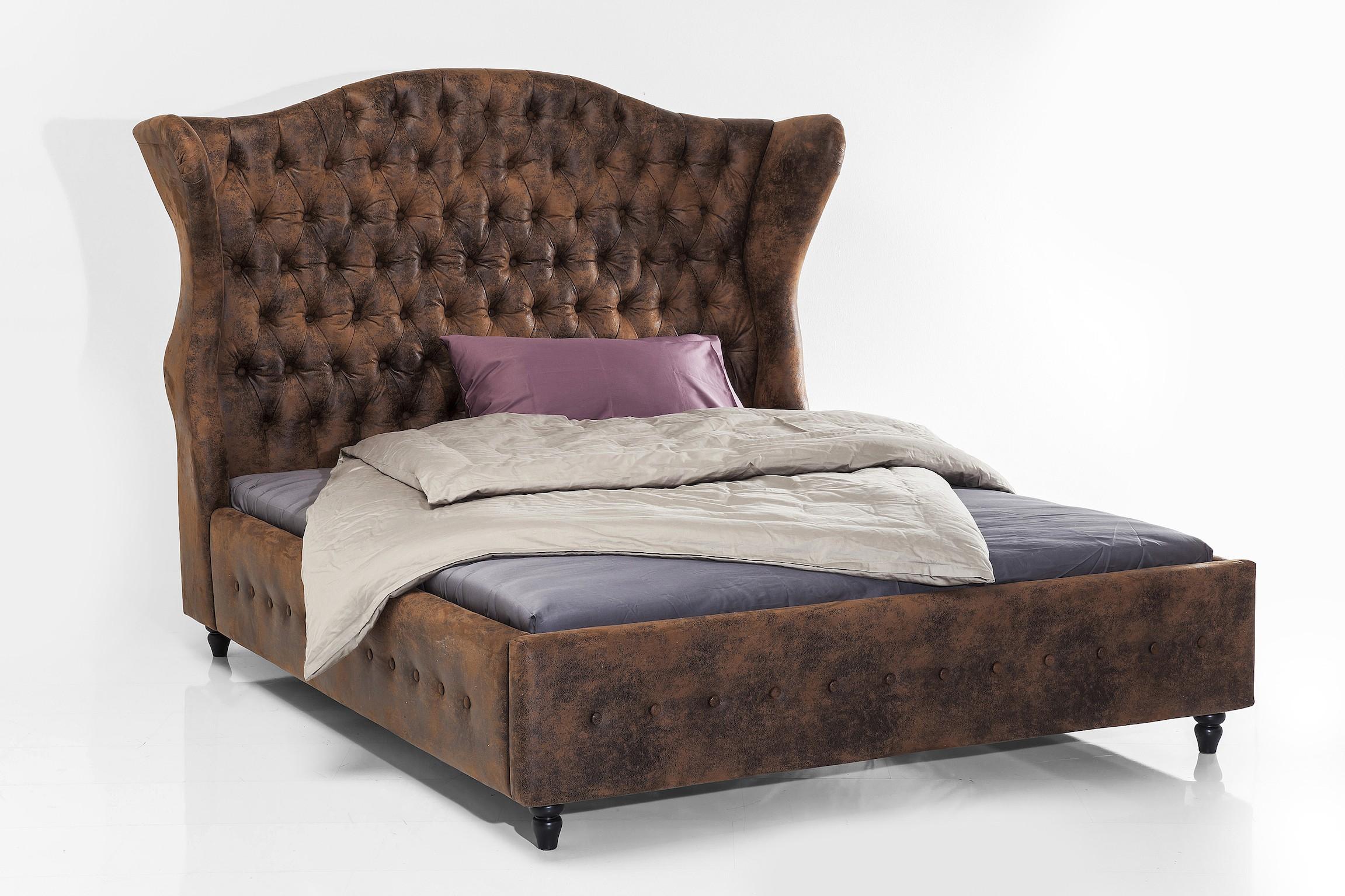 bett city spirit vintage 160 x 200 cm. Black Bedroom Furniture Sets. Home Design Ideas