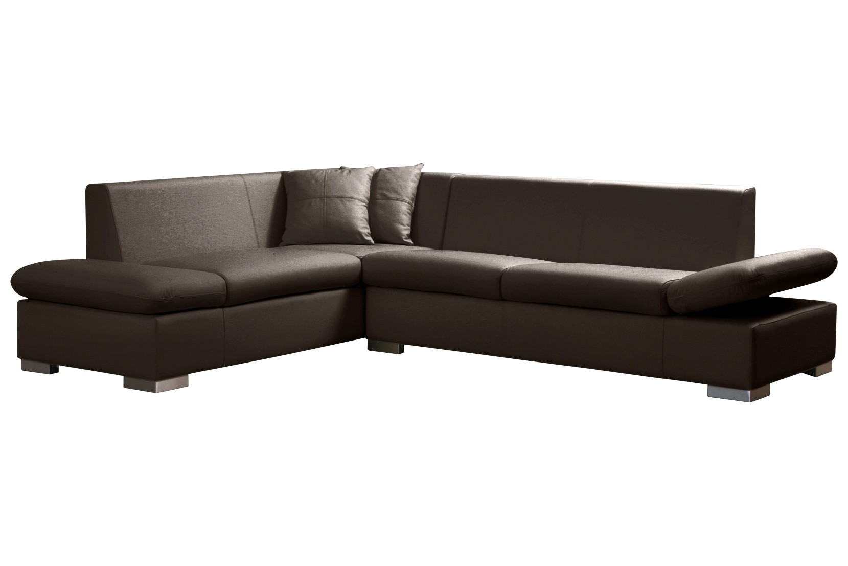 ecksofa leder braun bel divani designer ecksofa leder. Black Bedroom Furniture Sets. Home Design Ideas