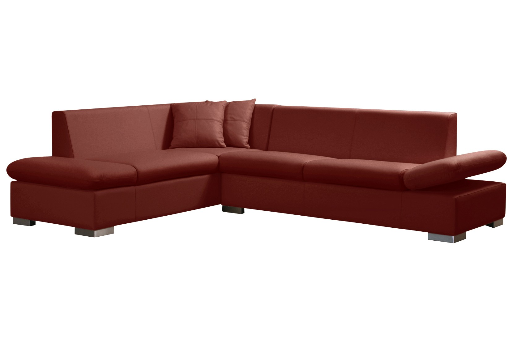 Sessel rot couch for Couch aufblasbar