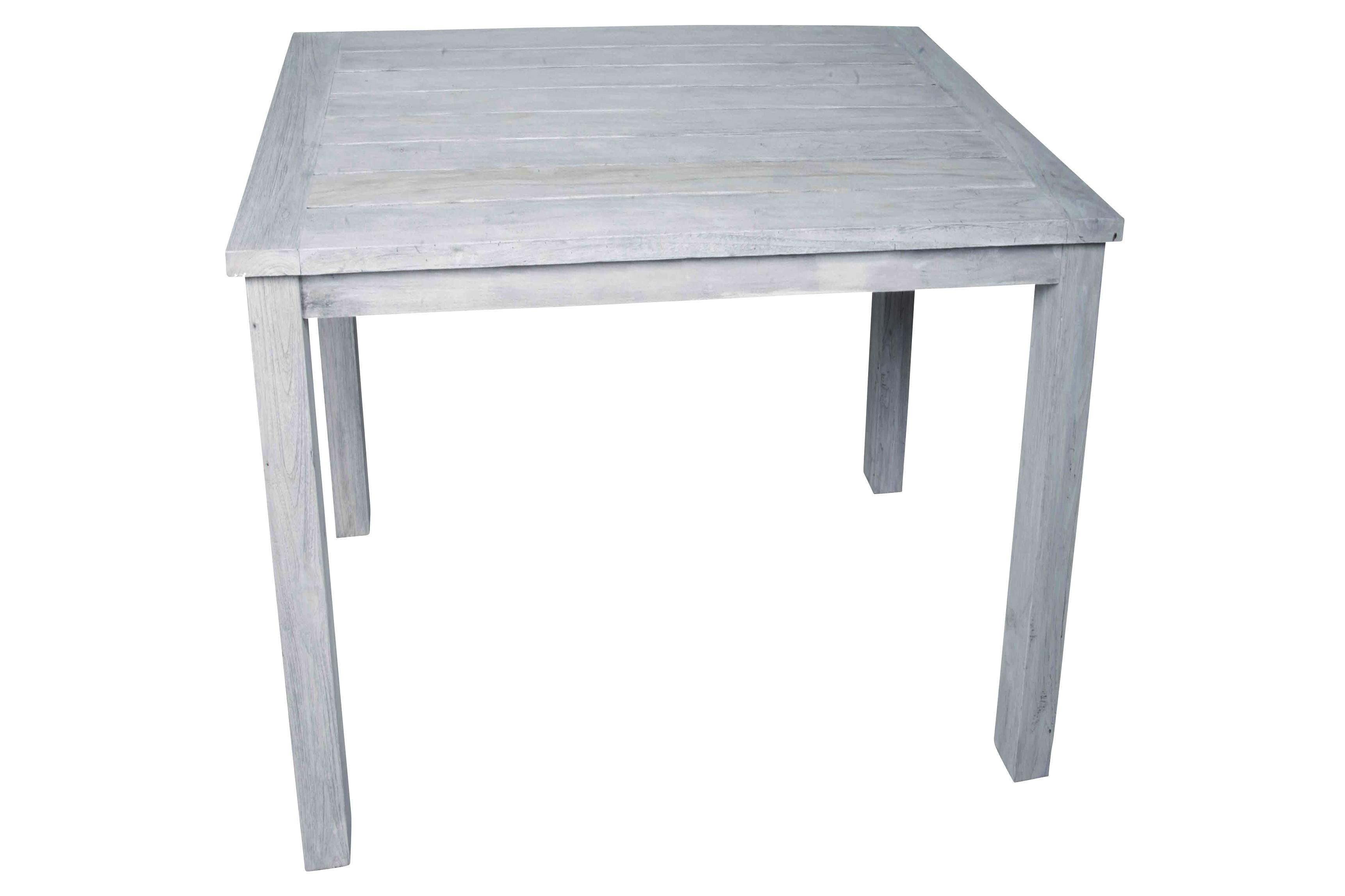 Gartentisch belmont weiss 90 cm for Gartentisch weiss