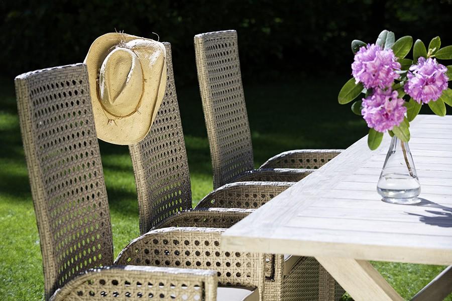 Gartentisch boulogne weiss 240 cm for Gartentisch weiss