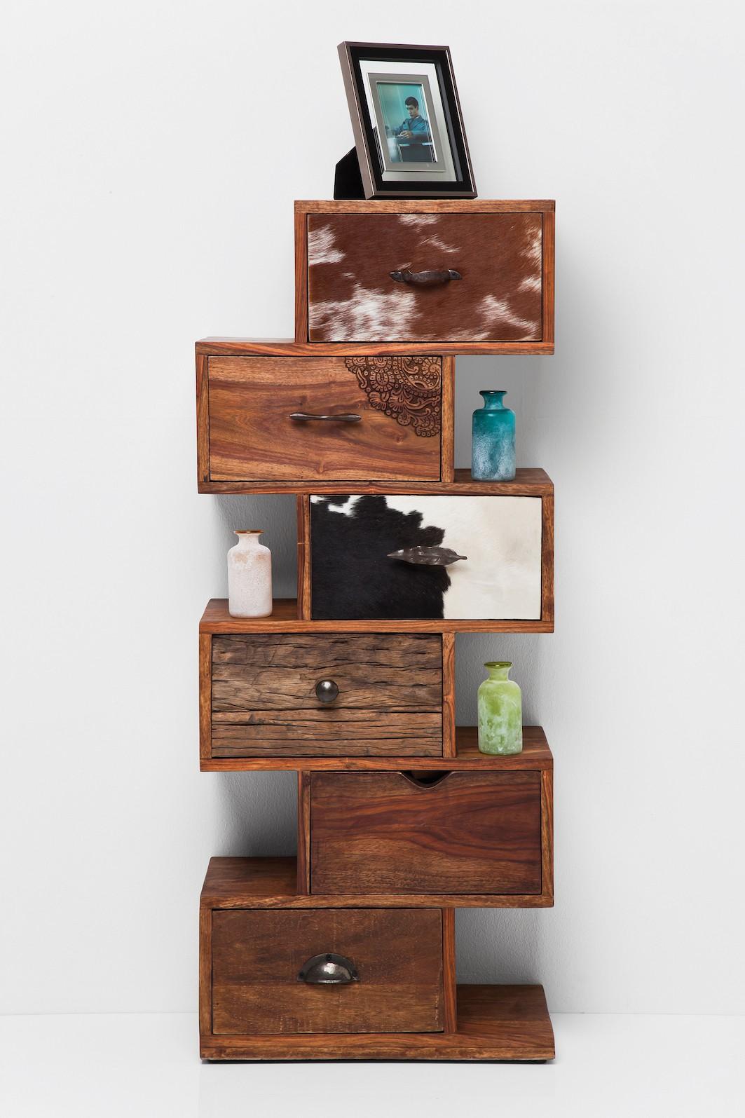 kommode rodeo zick zack. Black Bedroom Furniture Sets. Home Design Ideas