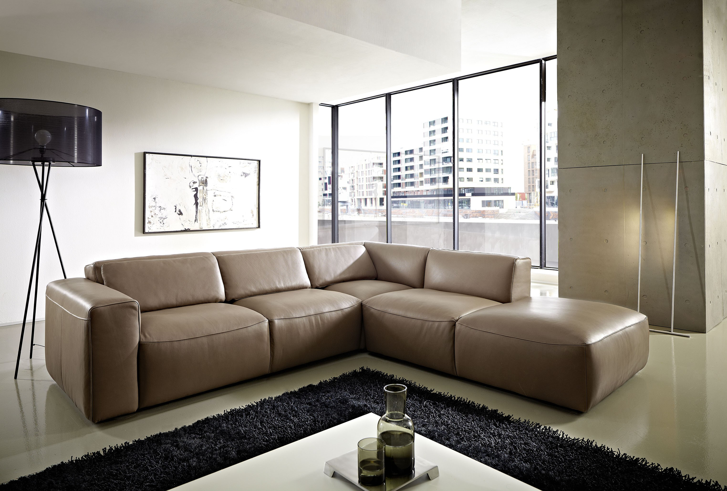 Ledersofa pure se for Designer ledersofa outlet