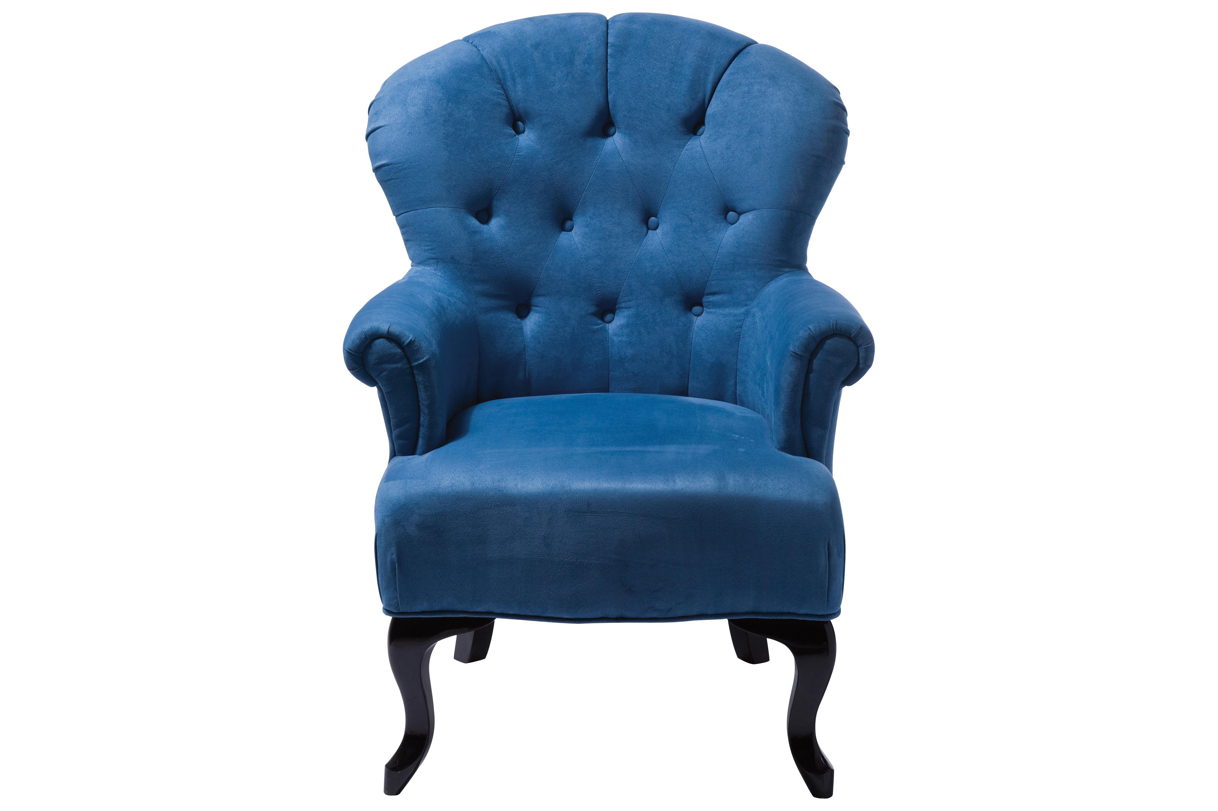 Sessel Cafehaus blau