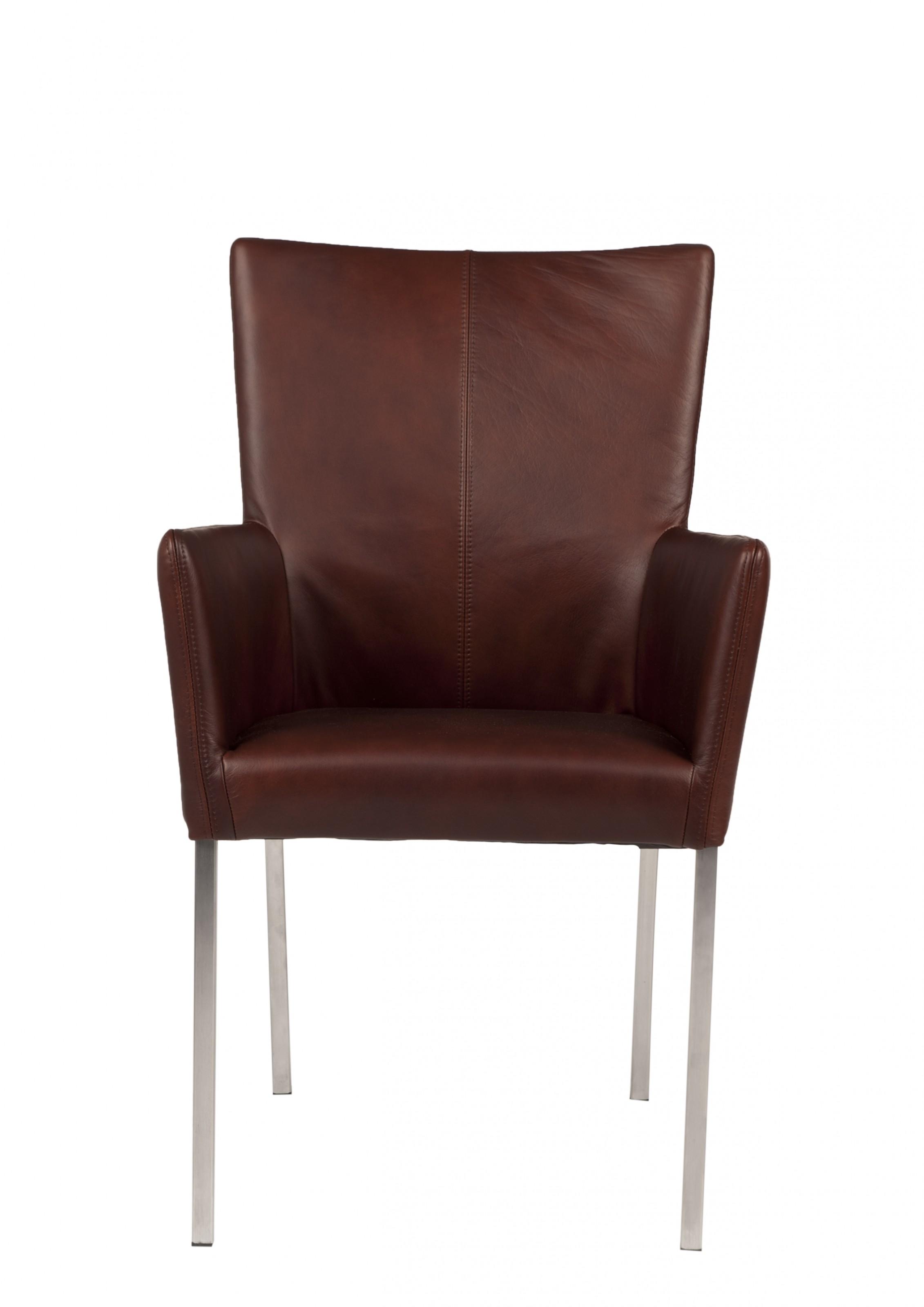 stuhl buffalo leder dark tan. Black Bedroom Furniture Sets. Home Design Ideas