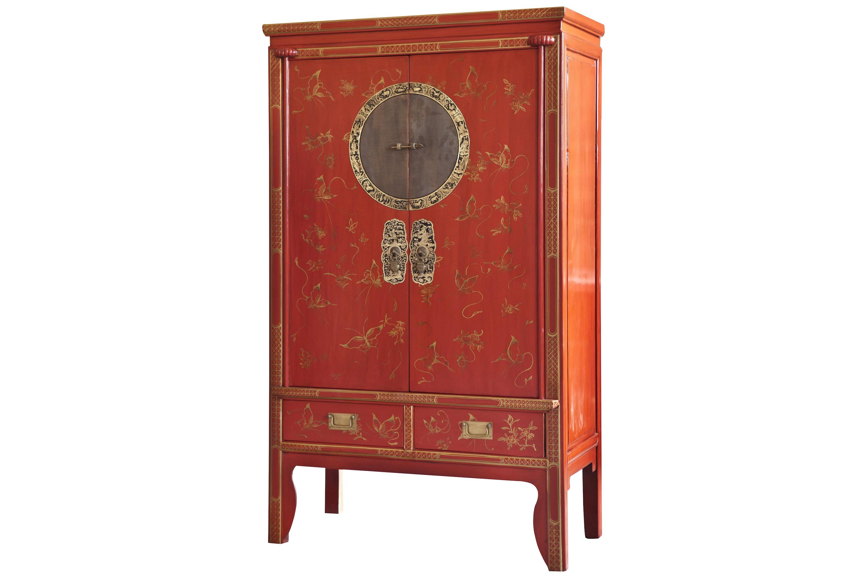 hochzeitsschrank tibet rot. Black Bedroom Furniture Sets. Home Design Ideas