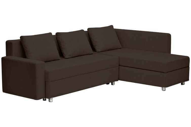 leder schlafsofa mit bettkasten m belideen. Black Bedroom Furniture Sets. Home Design Ideas