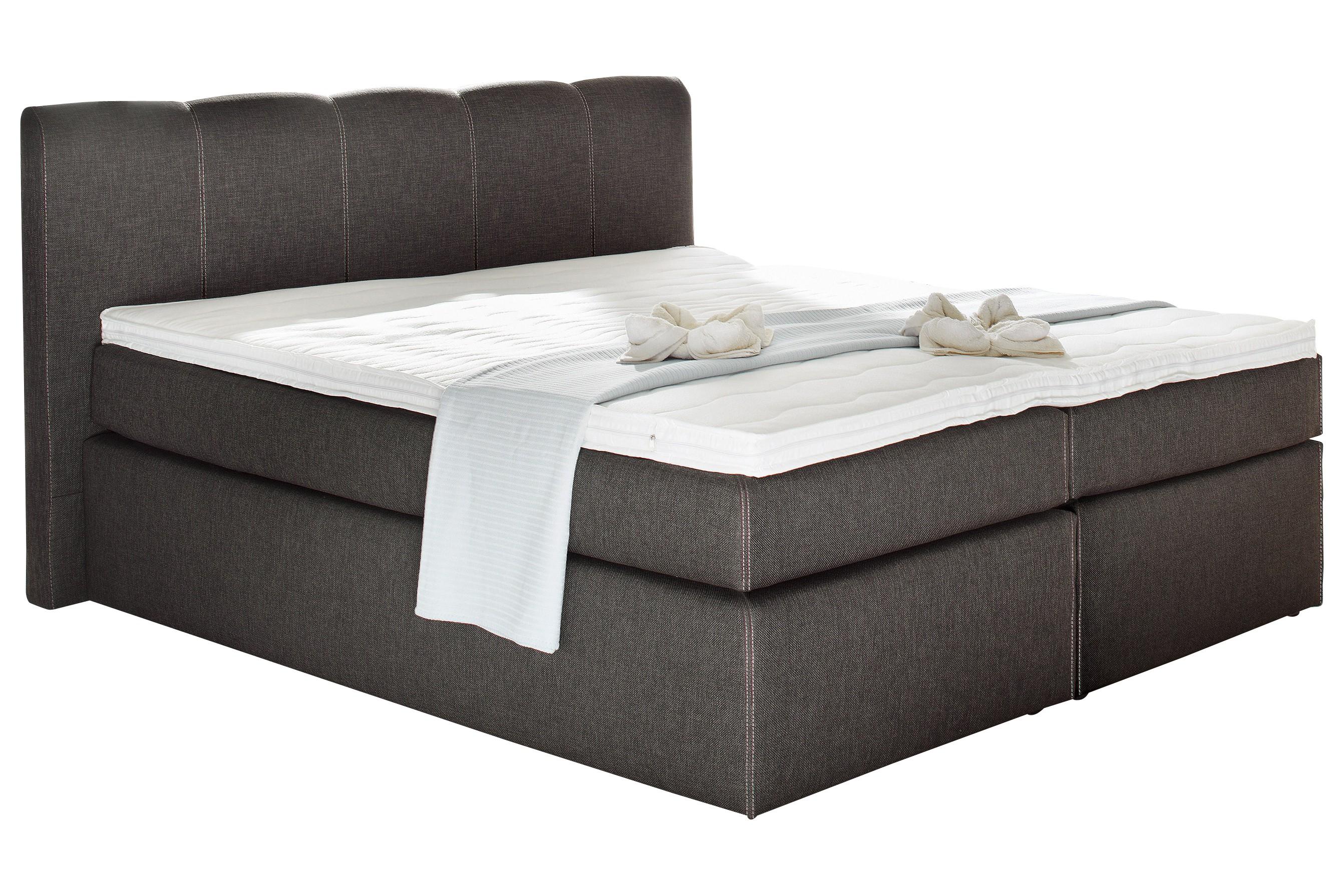 boxspringbett havena 180x200 cm braun. Black Bedroom Furniture Sets. Home Design Ideas