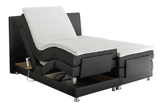 boxspringbett raffinetto 180x200 cm schwarz. Black Bedroom Furniture Sets. Home Design Ideas