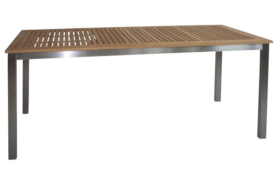 gartentisch san remo teak 180 cm. Black Bedroom Furniture Sets. Home Design Ideas