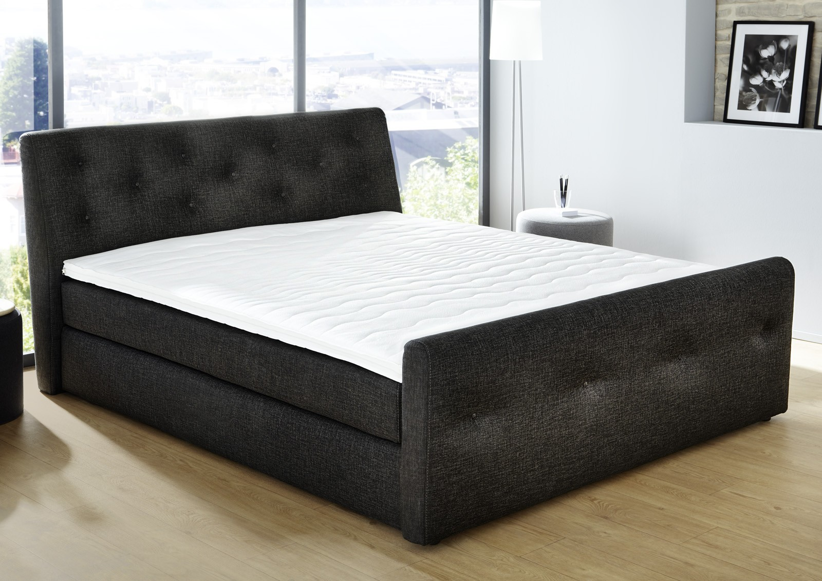 boxspringbett 180x200 m bel einebinsenweisheit. Black Bedroom Furniture Sets. Home Design Ideas