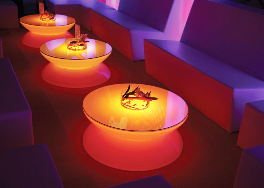 Couchtisch Lounge LED Pro Accu